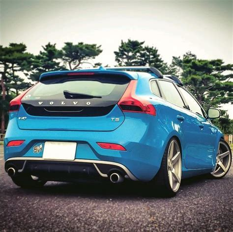 volvo v40 rims polestar v40 with mks 550 19 quot wheels volvo v40