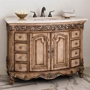 Sink Vanity Antique Ambella Home Antique 48 Antique Single Sink Bathroom
