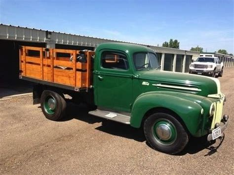 minot truck 1947 ford 3 4 ton stake bed up in minot nd this