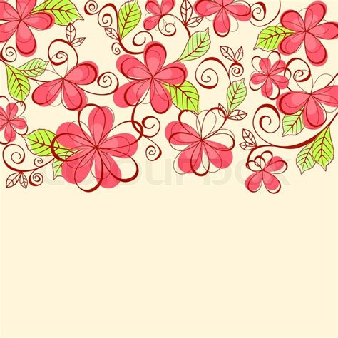 design patterns invitation cards floral background for textile or invitation card design