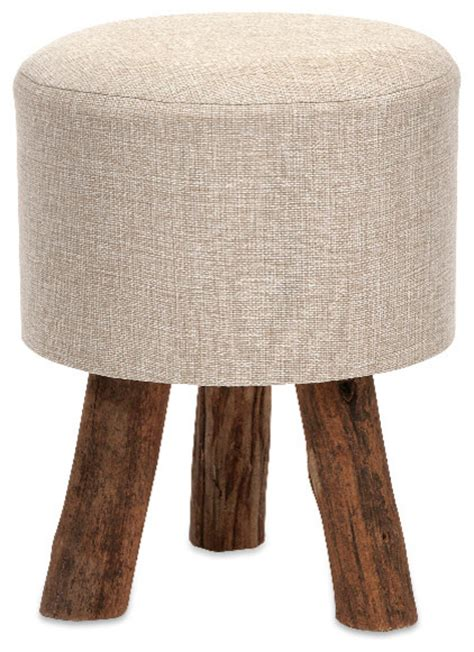 Small Decorative Ottomans Classic Style Beige Williamson Ottoman Small Home Accent