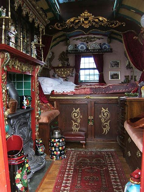 Vardo Interior by Real Wagon Interior Magical Inspirations For The