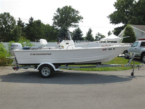 triumph 170cc 2007 for sale for 9 950 boats from usa - Triumph Boat Trailer