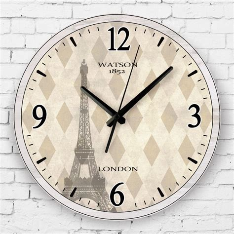 fashion meeting room wall decor clocks absolutely silent southeast asia style meeting room decoration wall clock