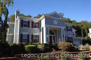 Painting Exterior Door - exterior house painting completed walnut creek ca legacy painting contractors