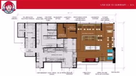 floor plan for a restaurant wendy s restaurant floor plan youtube