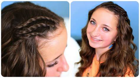 Side Twist Hairstyle by Fashion Updates Lace Side Twists Hairstyle