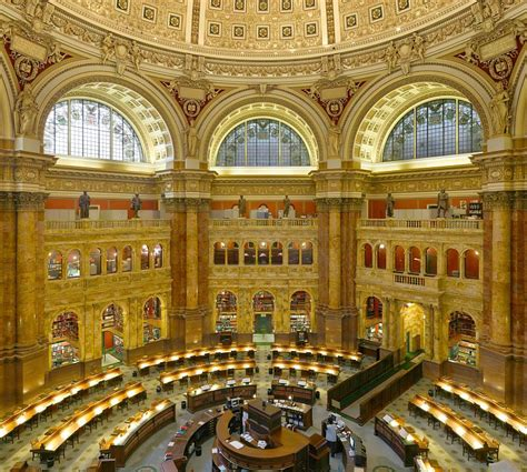 Library Of Congress Reading Room by Photograph Of Library Of Congress Reading Room