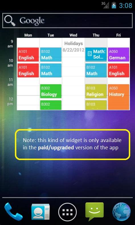 school scheduling app my class schedule stundenplan android apps auf play