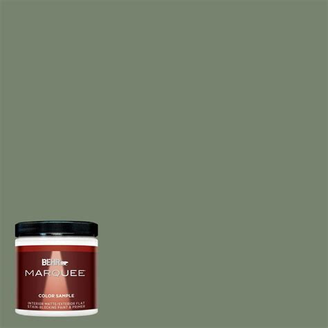 home depot behr marquee paint colors behr marquee 8 oz mq6 16 gazebo green interior exterior