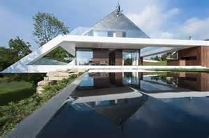 modern home design glass top polish house designs modern house designs in glass