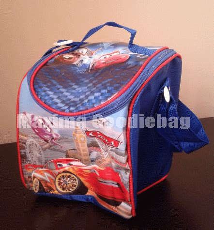 Sale Tas Kotak Mickey Lunch Bag Tas Bekal Hadiah Kado Souvenir lunch box ulang tahun cars goodie bag ultah anak