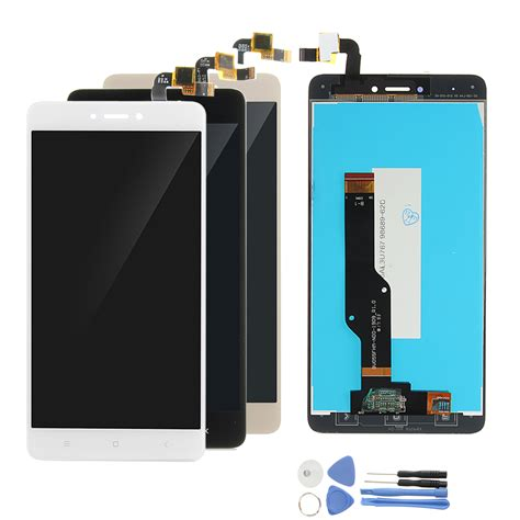 Lcd Redmi Note 4x lcd display touch screen digitizer replacement with tools
