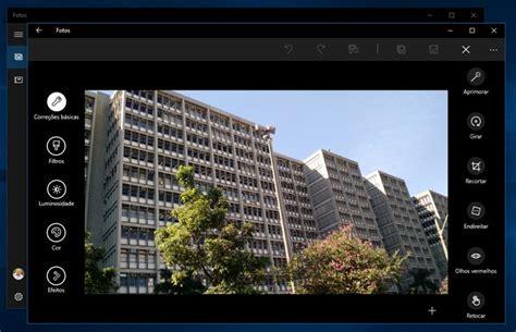 editar imagenes windows 10 como editar e aplicar filtros nas fotos com o app nativo