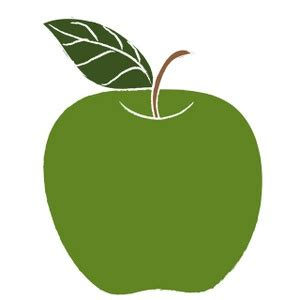 Green Apple Outline by Green Apple Tree Clipart Clipart Panda Free Clipart Images