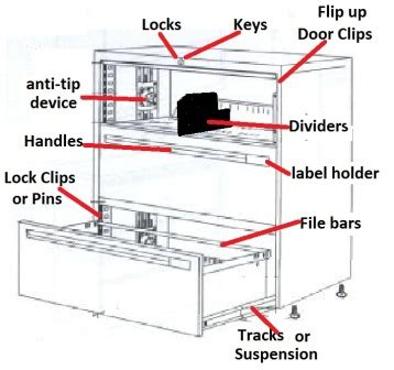 File Cabinet Parts