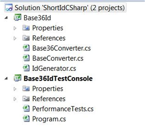 coding shortest solution a identifier using base 36 in c codeproject