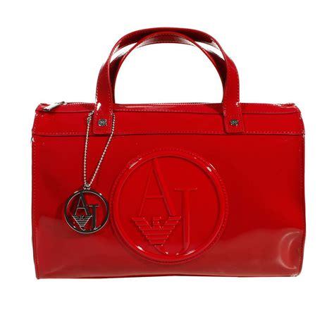 Giorgio Armani Handbag Big Size armani handbag trunk bag patent leather 31x25x16 cm in out of stock lyst