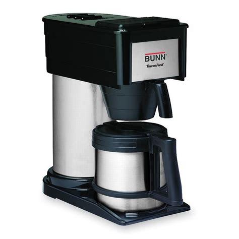 bunn coffee makers bunn 38200 0016 thermofresh coffee brewer 900w ebay