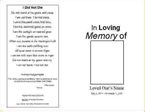 6 free printable doctor notesagenda template sle 6 free printable funeral program templateagenda template