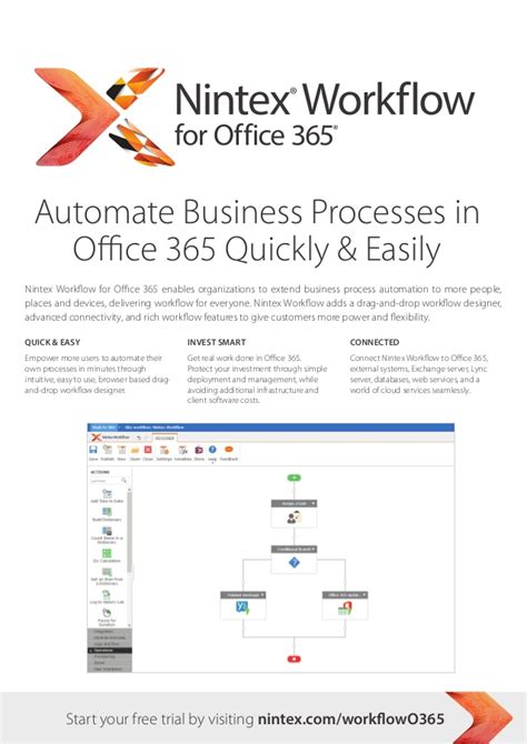 Office 365 Workflow Nintex Workflow For Microsoft Office 365 From Atidan