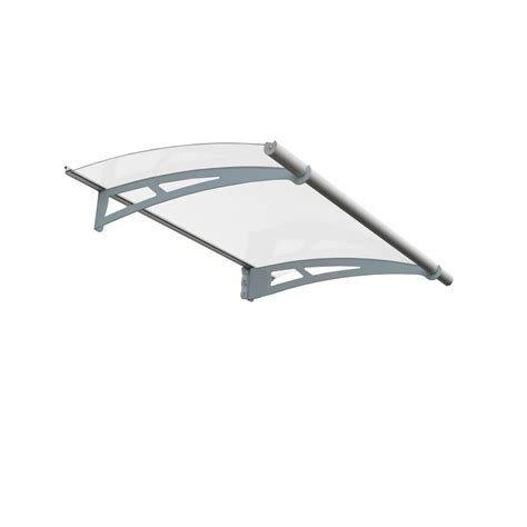 clear awnings for home palram aquila 1500 clear awning 701089 the home depot