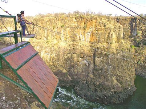 vic falls gorge swing gorge swing victoria falls zimbabwe adreneline rush