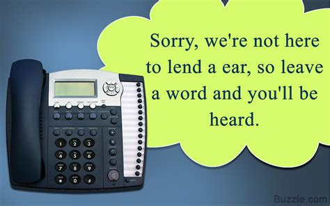 Get Voice Messages From by Voicemail Messages That Ll Tickle Your Callers