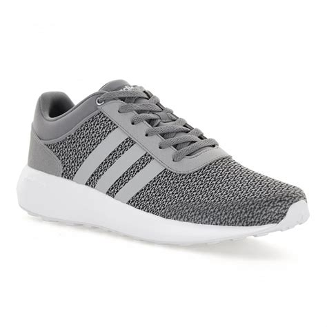 Adidas Neo Cloudfoam Grey Clear Grey White Original adidas neo mens cloudfoam race 117 trainers grey mens from loofes uk