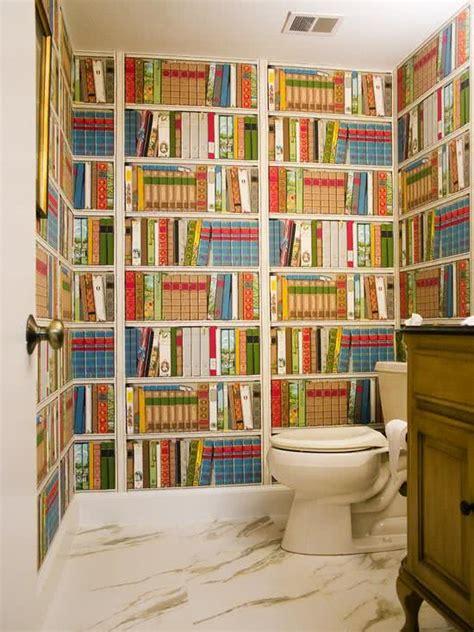 Wallpaper In Bathroom Ideas 51 Fotos De Papel De Parede Para Banheiro Na Decora 231 227 O