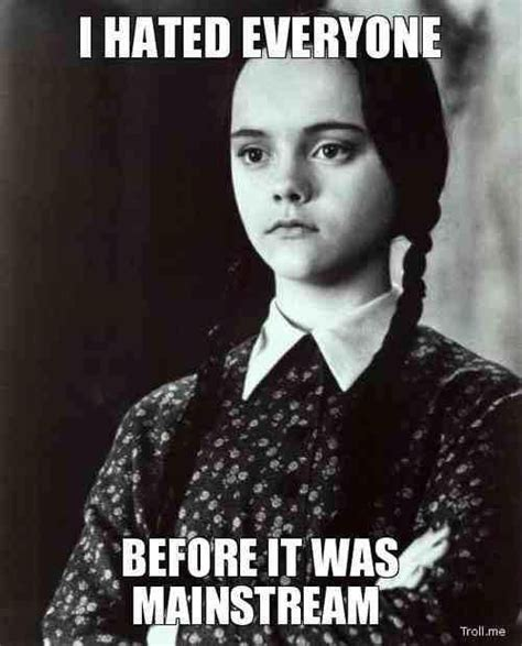 Wednesday Addams Meme - wednesday addams memes e cards and other scary stuff