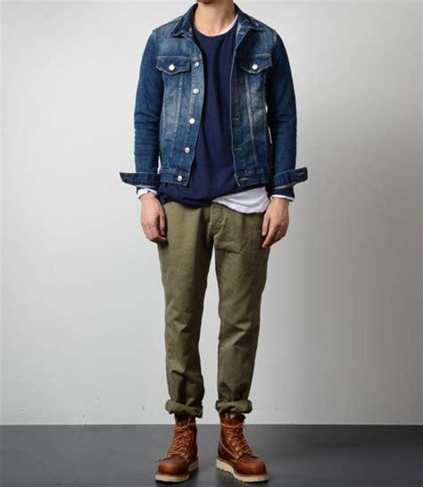 Kemeja Flannel Abu Levis 6 cara stylish menggunakan celana chino pria