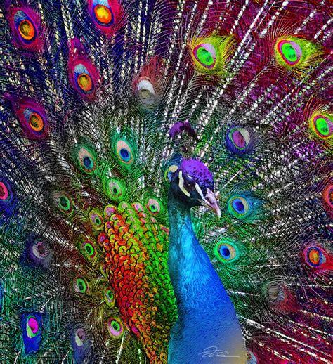 color peacock funmozar peacock home decor peacocks