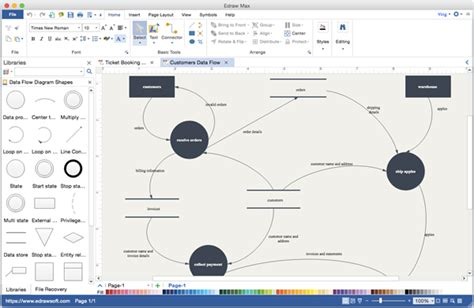 data flow diagram alternative to microsoft visio for mac