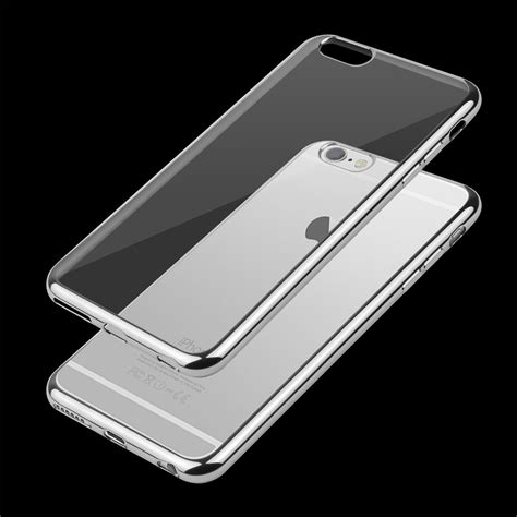 Bumper Hardcase For Iphone 6 1 clear silicone bumper cover for apple iphone 7 7 plus 6 6s plus 5 se ebay