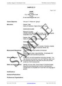 How To Write A Resume Cv by Cv Resume Resume Format Resume Sles Circum Vitae Format Curriculum Vitae