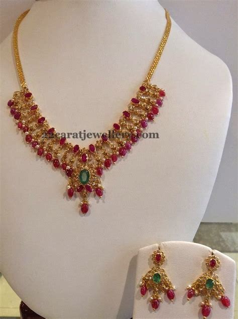 Mezzura Set 2in1 Pink 78 78 images about ruby necklace jewellery on