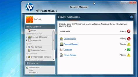 search protect uninstall does not work microsoft hp protecttools overview youtube