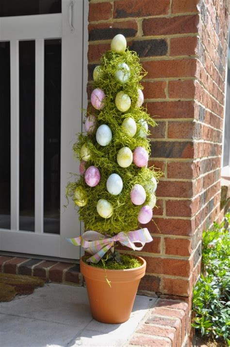 70 awesome outdoor easter decorations for a special