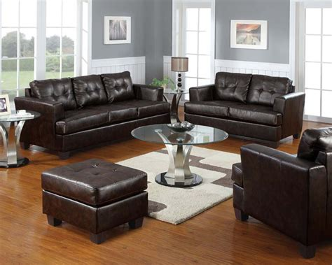 leather sofa set bonded leather sofa set platinum by acme furniture