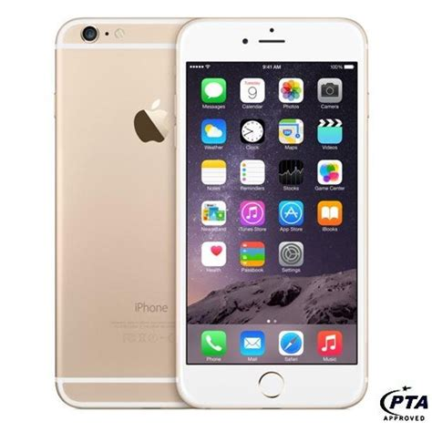 Q Iphone Price In Pakistan by Apple Iphone 6 128gb Gold Official Warranty Price In Pakistan Apple In Pakistan At Symbios Pk