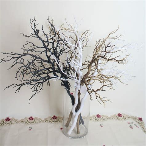 O Tree How Plastic Are Your Branches by 10pcs Artificial Black White Tree Branches Plastic Dried