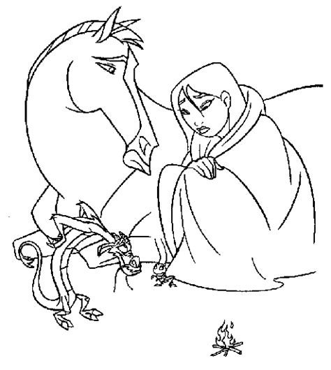 Mulan 2 Coloring Pages Quotes Quotes Mulan 2 Coloring Pages