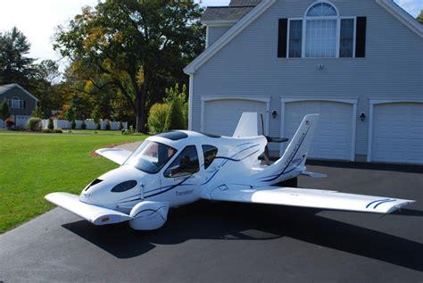 auto volante terrafugia flying airplane car enters production