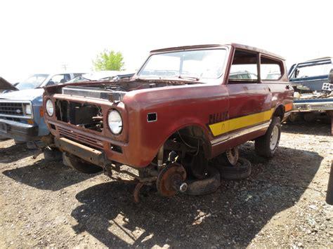Finder International Junkyard Find 1972 International Harvester Scout Ii The