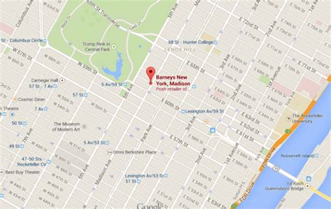 nyc shopping map where to find what