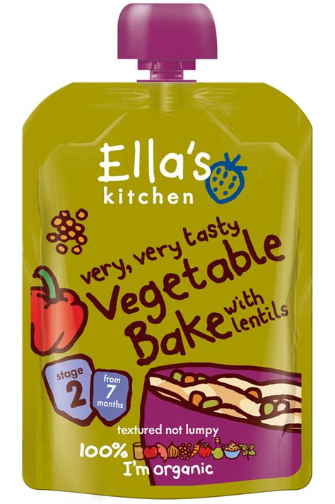 ella s kitchen vegetable bake 130g ella s kitchen