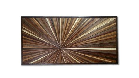 starburst pattern wall art made from reclaimed wood barn hand made reclaimed wood wall art custom made wood