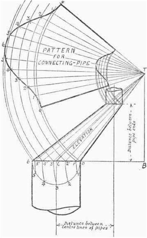 Sheet Metal Drawing Pattern Development | unit g pattern development mahmood s drafting e folio