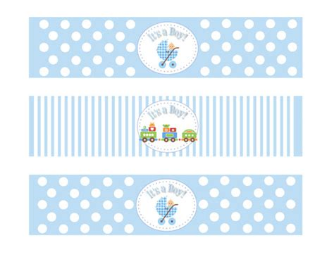 printable stickers baby shower 9 best images of boy baby shower printable labels free